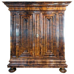 17th-18th Century Baroque Cabinet from Germany / Frankfurt