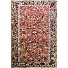 Incredible Persian Heriz Oriental Rug