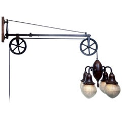 Original Swing Arm Dental Pulley Lamp
