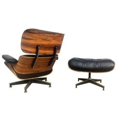 Vintage Herman Miller Eames Lounge and Ottoman