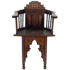 Inlaid Moroccan Chair