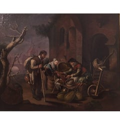 After Gerrit Dou, 17th-18th Century Oil on Canvas