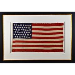 Antique 45 Star American Flag, circa 1896
