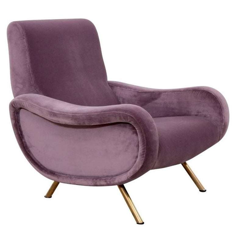 Lady Chair by Marco Zanuso for Arflex in New Upholstery