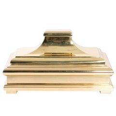 Brass Chapman Lidded Pagoda Box