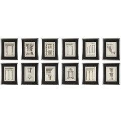Twelve Architectural Prints