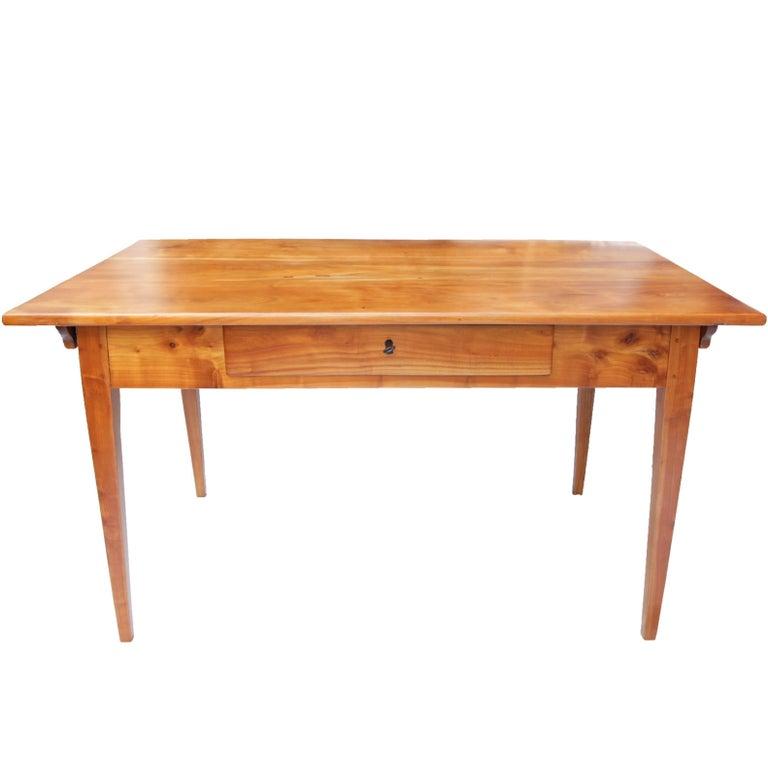19th Century Biedermeier Cherrywood Table