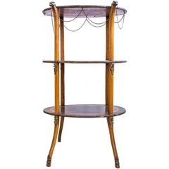 Etagere Table, Second Half of the 20th Century