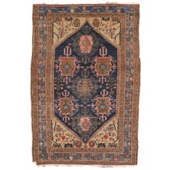 Antique Hamadan Persian Rug with Modern Style