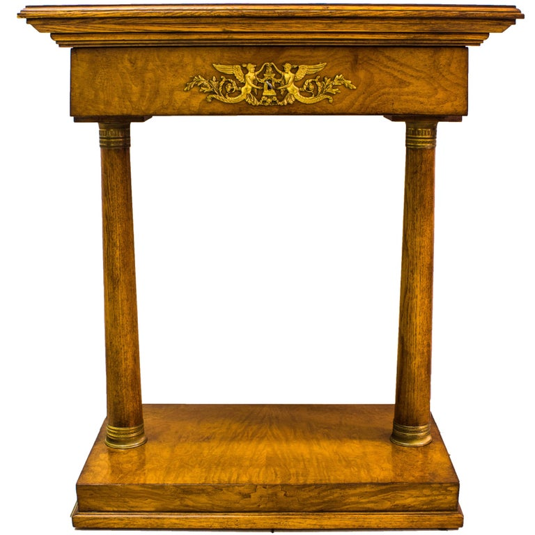 Small console table second half of the 20th century for for Table th width