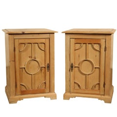 Pair of English Pine Cabinets