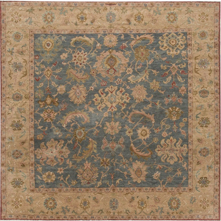 modern sultanabad square rug for sale at 1stdibs