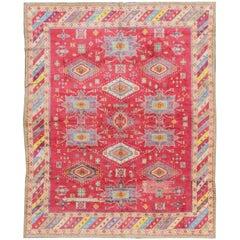 Vintage Cotton Agra Rug