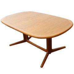 "101"" Vintage Mid Century Scandinavian Dining Table (MR14878)"
