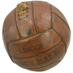 Leather Lindop Netball