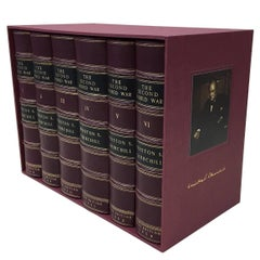 Second World War by Winston Churchill, Signed 1st Edition, 6 Vol., 1948-1954