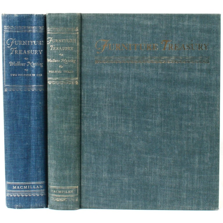 Furniture Treasury by Wallace Nutting 2 Volume Set For Sale