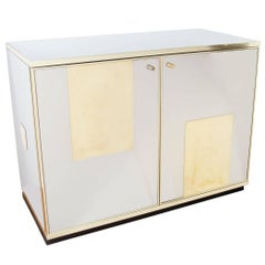 Stainless Steel and Brass Chest