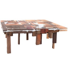 Bits of Wood Coffee Table by Pepe Heykoop