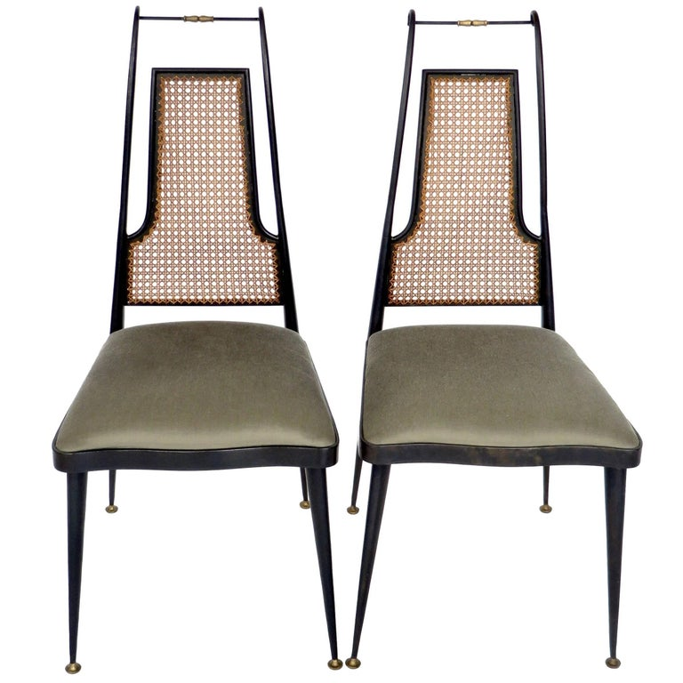 Pair of Side Chairs by Arturo Pani, circa 1950