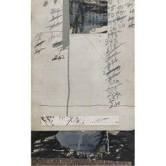 Michael Pauker Framed Collage 'Sozialdemokratisch' 1992