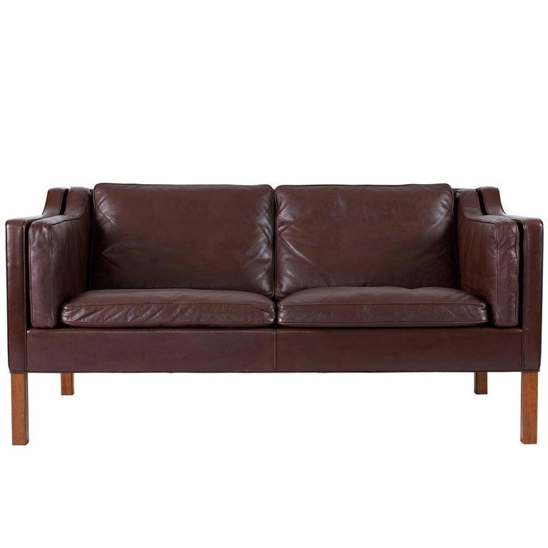 Børge Mogensen Model 2212 Two Seat Sofa For