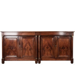 French 19th Century French Walnut Enfilade