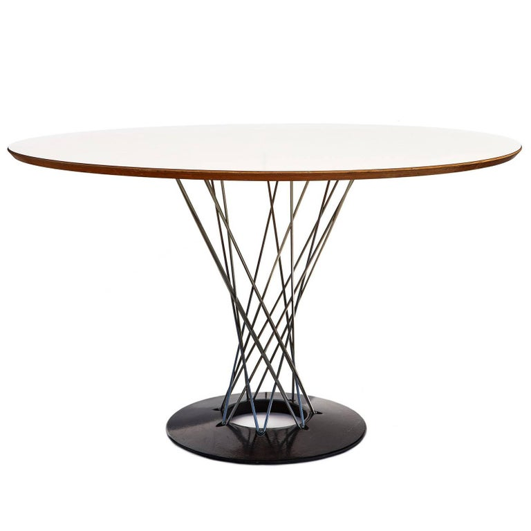 """Early 1960s """"Cyclone"""" Dining Table by Isamu Noguchi 1"""