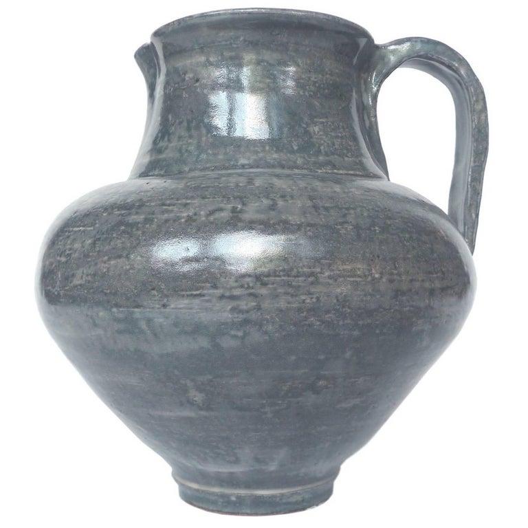George Ohr Mad Potter Of Biloxi Ceramic Pitcher At 1stdibs