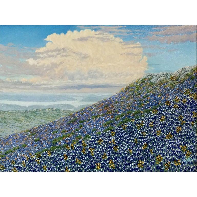 """Daniel Kendrick Texas Bluebonnets """"The Magic Carpet"""" For Sale"""
