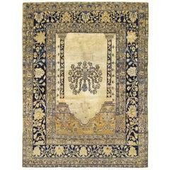 19th Century Persian Tabriz Prayer Rug