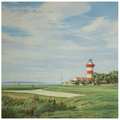 Harbor Town Golf Print, Arthur Weaver