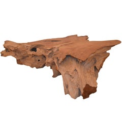 Andrianna Shamaris Organic Teak Wood Coffee Table