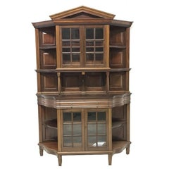 Morris & Co. Fine Mahogany Glazed Bookcase Designed by George W Jack