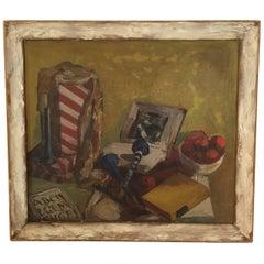 1940s Still Life Painting