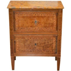 18th Century Italian Inlaid Chest
