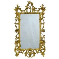 18th Century Italian Rococo Gilt Mirror