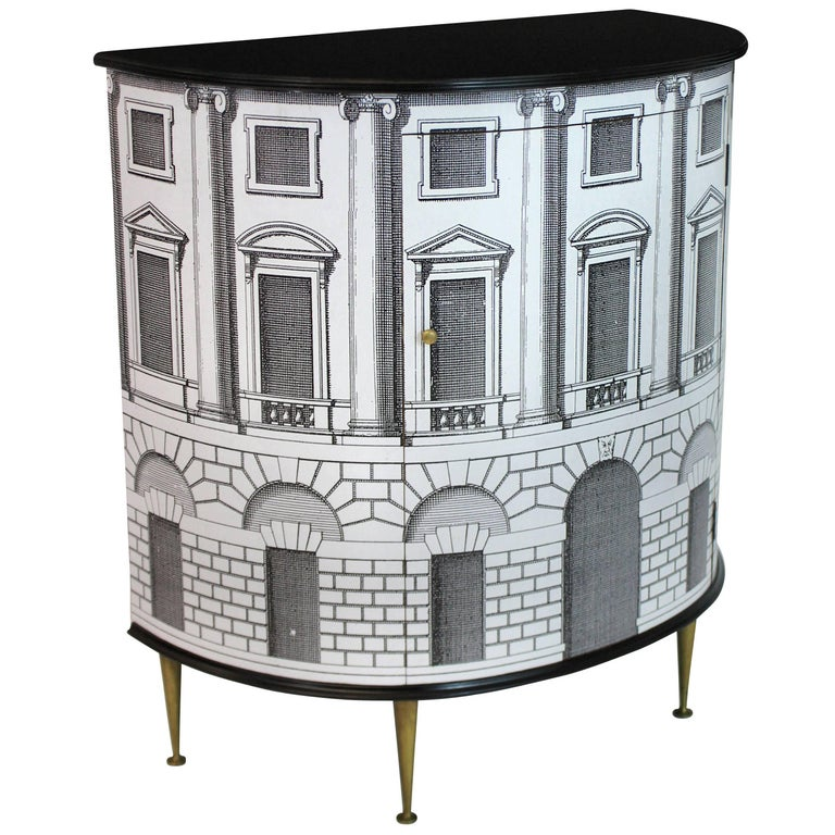 Fornasetti Style Cabinet  1