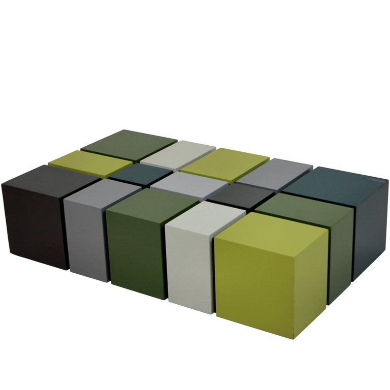 Unusual Cubist Occasional Table
