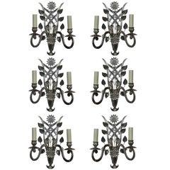 Set of Six Sconces