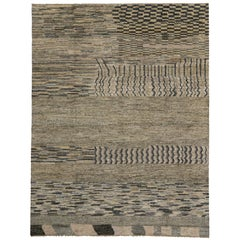 New Contemporary Moroccan Area Rug with Modern Tribal Design