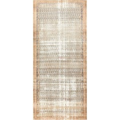 Long Shabby Chic Antique Persian Northwest Carpet