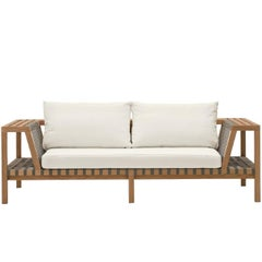 Roda Network 120 Outdoor Teak Sofa