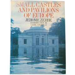 """""""Small Castles and Pavilions of Europe"""" Book by Jerome Zerbe, First Edition"""