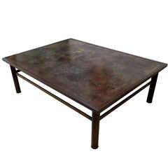 Bronze LaVerne Coffee Table with Zodiac Motif
