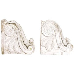 Pair of Architectural Brackets