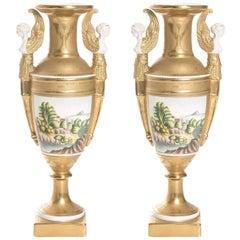 Pair of Neoclassical Vases