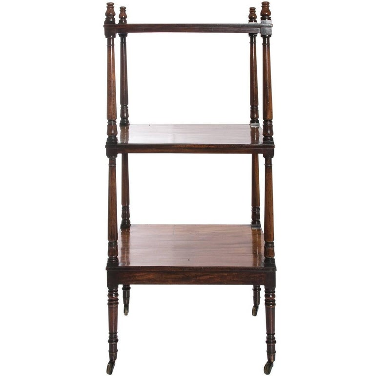 19th century english three tier tag re at 1stdibs. Black Bedroom Furniture Sets. Home Design Ideas