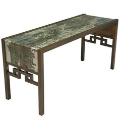 "Philip and Kelvin LaVerne ""Spring Festival"" Console Table"
