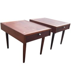 Pair of Merton Gershun American of Martinsville Nightstands
